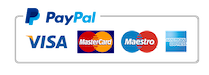 PayPal - All Major Credit Cards