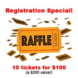 10 raffle tickets